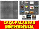 Caça-Palavras para o dia da independência do Brasil
