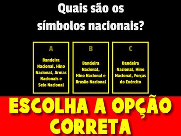 ESCOLHA A OPÇÃO CORRETA SOBRE O DIA DA INDEPENDÊNCIA DO BRASIL