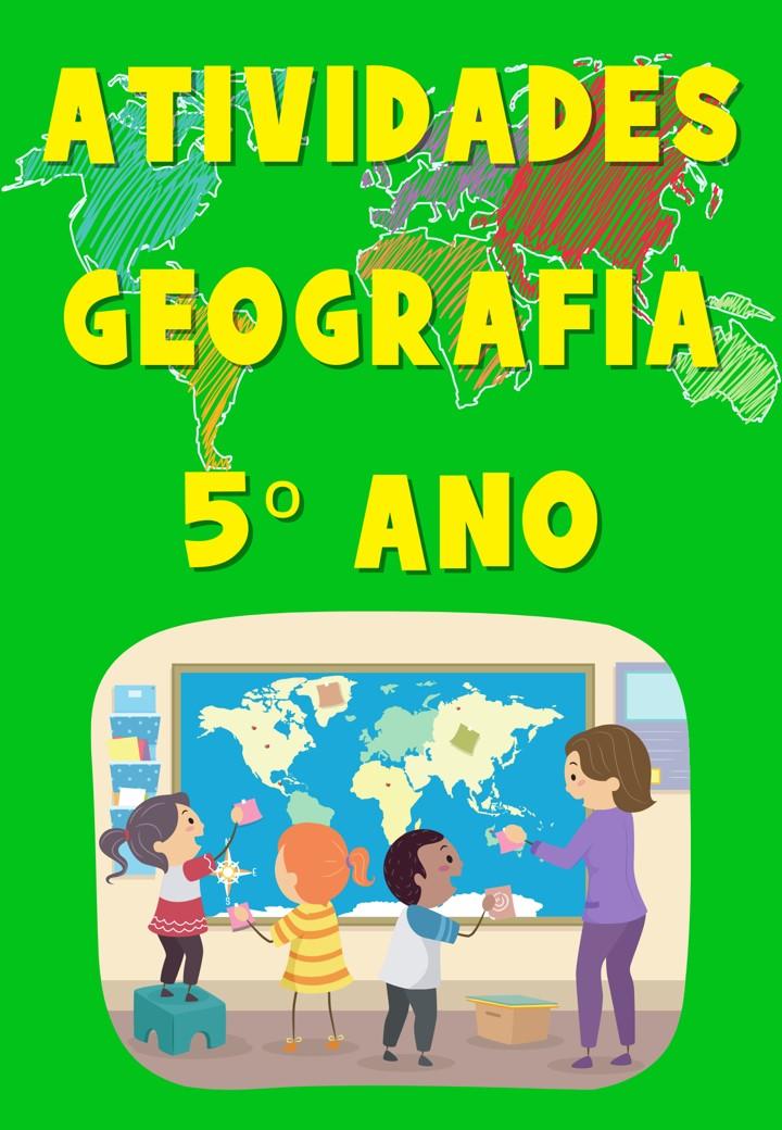 APOSTILA ATIVIDADES DO PET 5 ANO GEOGRAFIA