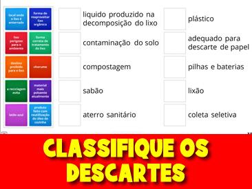 CLASSIFIQUE OS DESCARTES