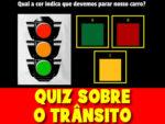 Quiz sobre o trânsito